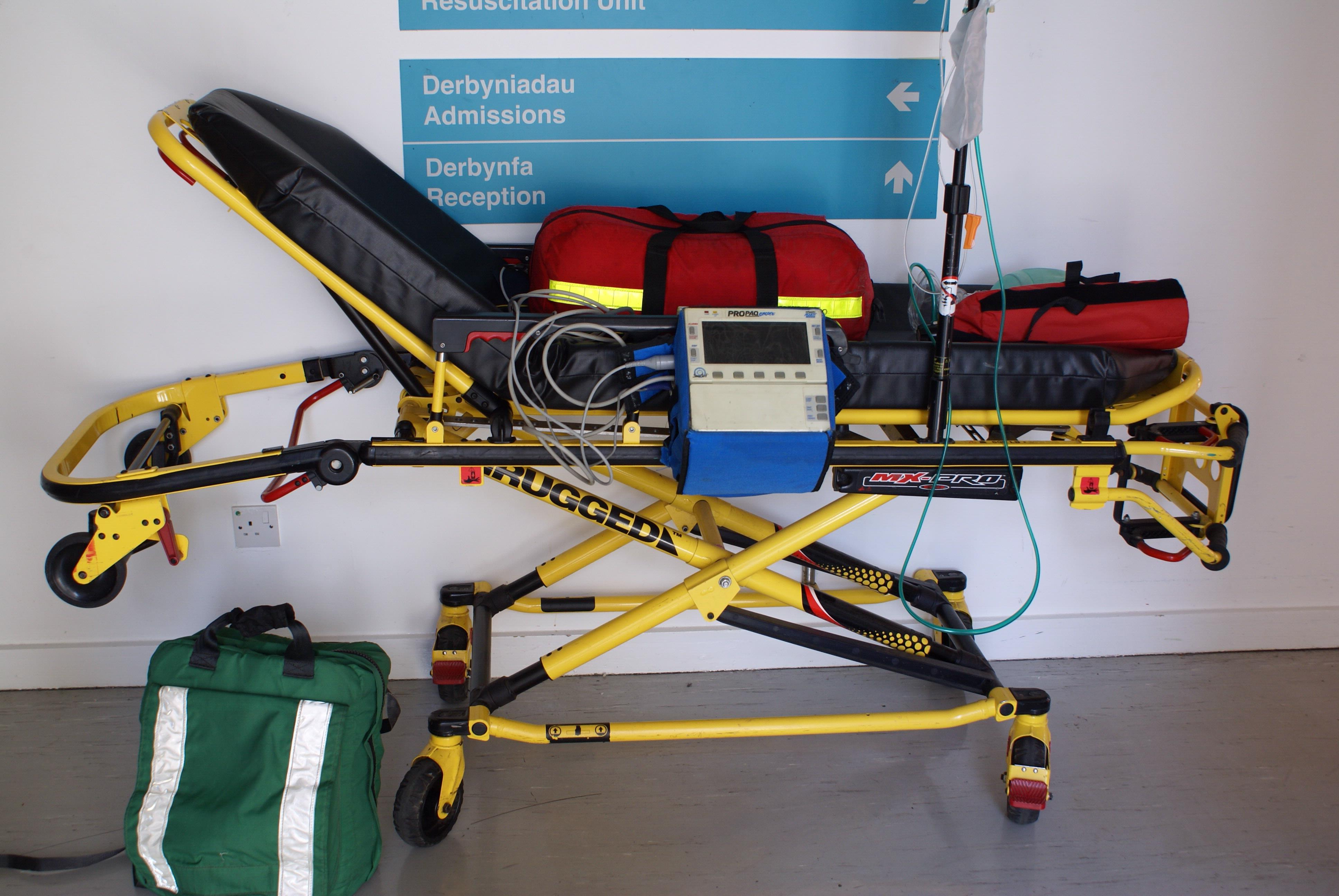 Ambulance Stretcher & Accessories