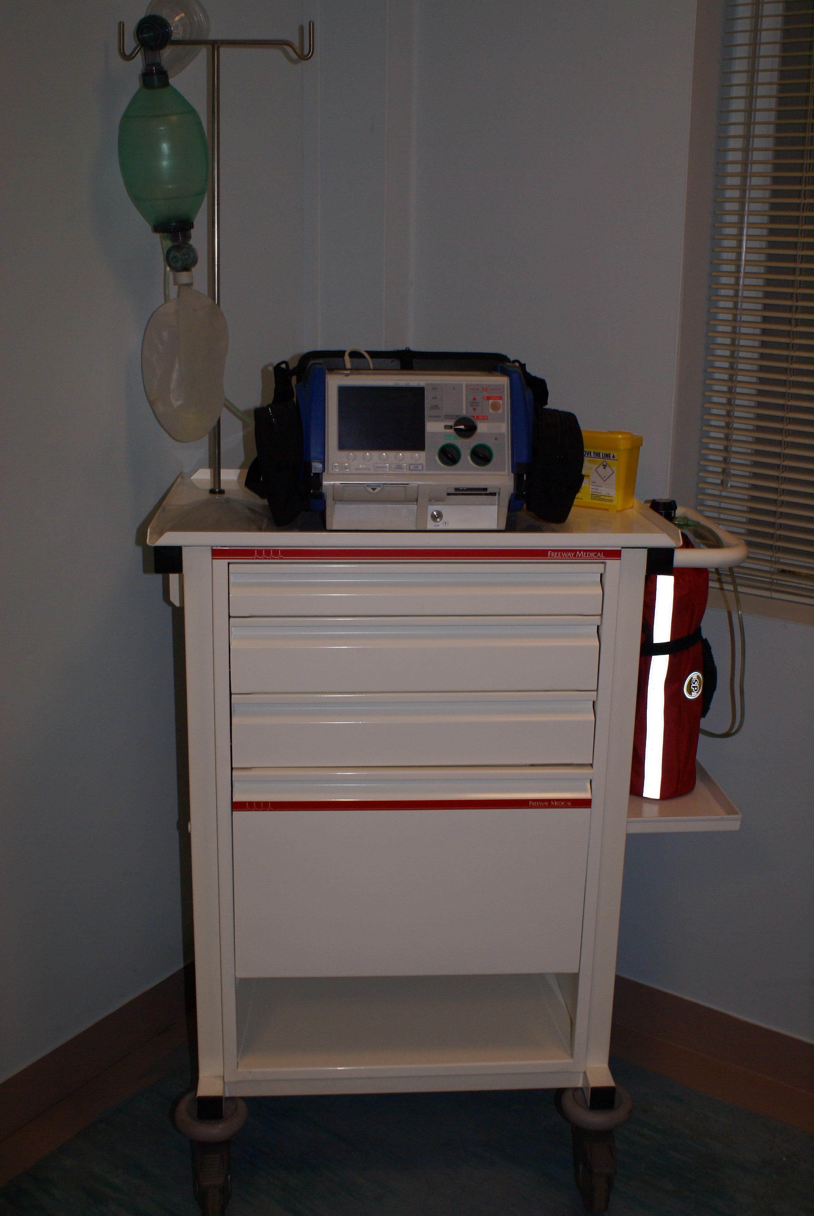 Cardiac Arrest Trolley