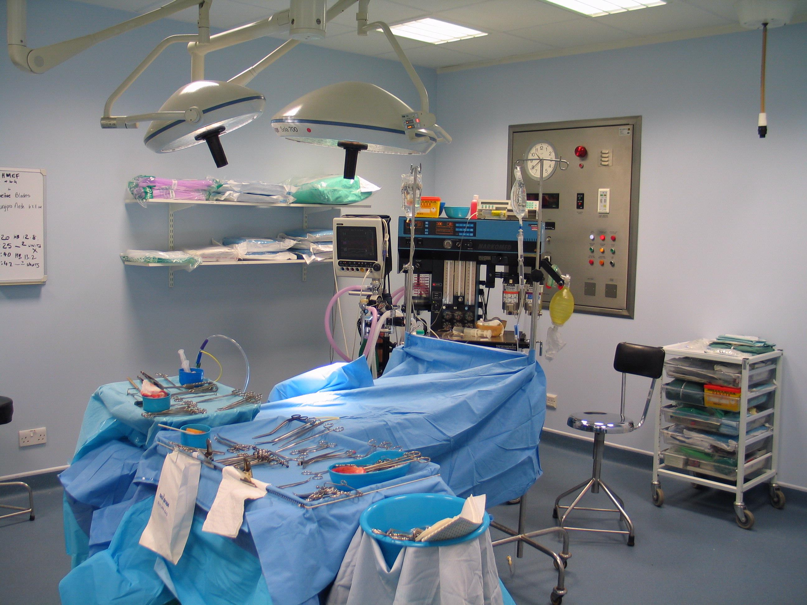 Operating Theatre 1990's to present