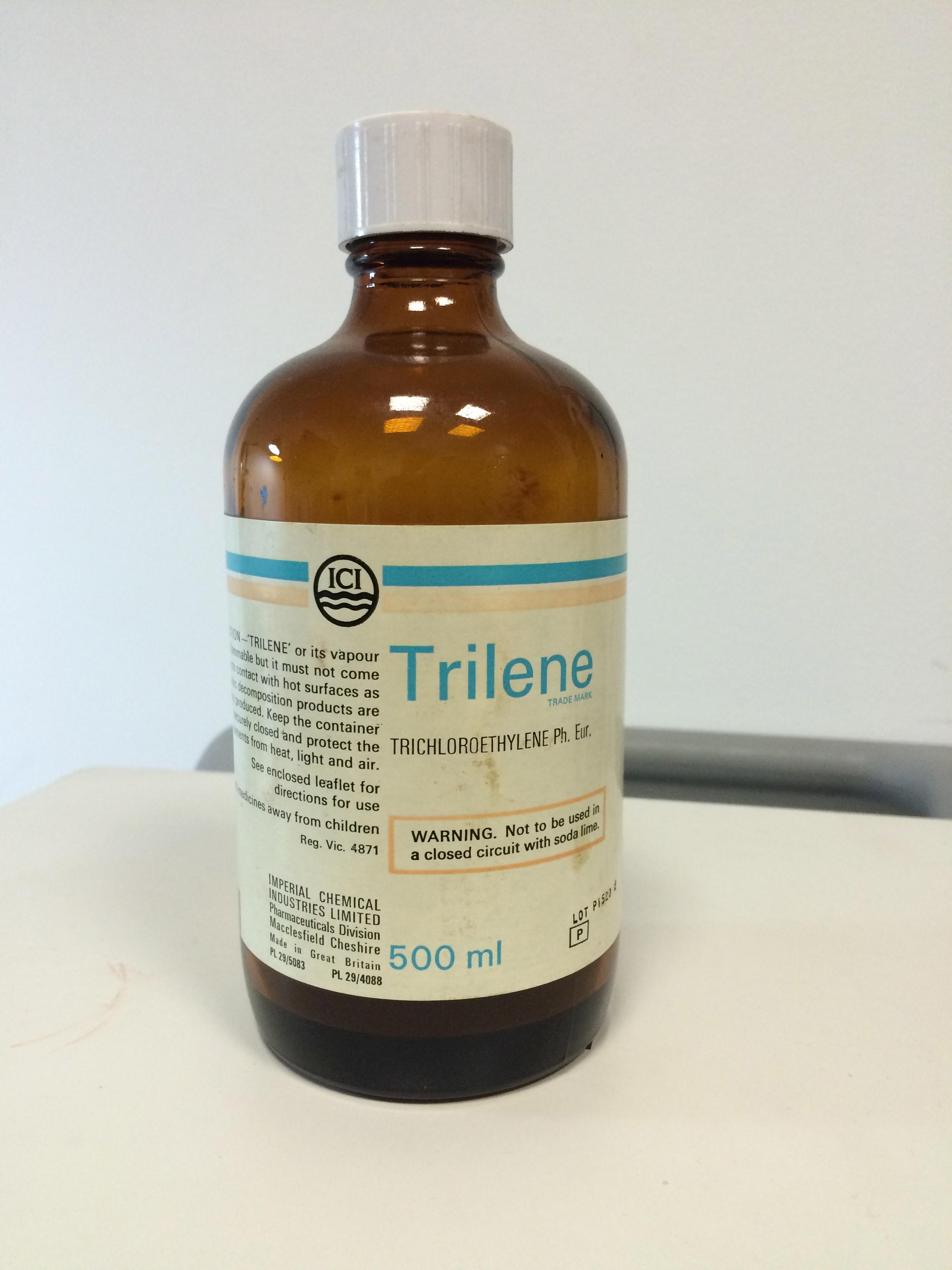 Trichloroethylene Bottle