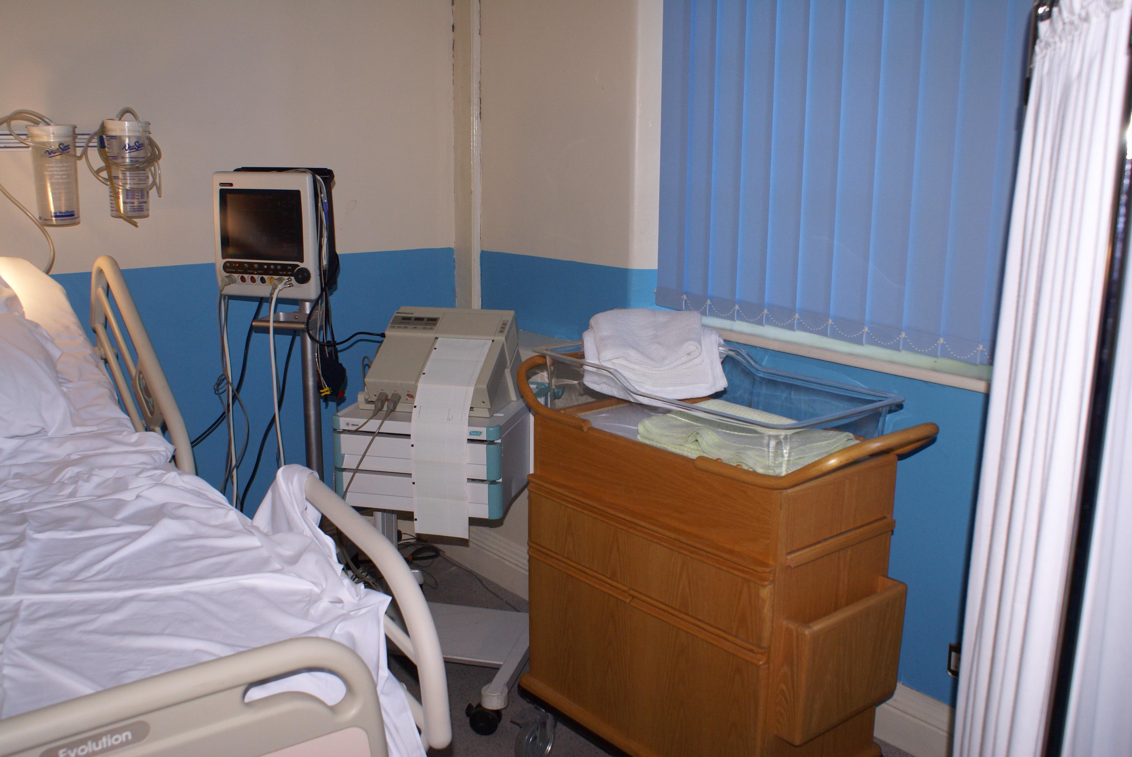 Patient Monitor CTG Machine & Baby Crib