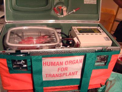 Heart Transplant Transportation