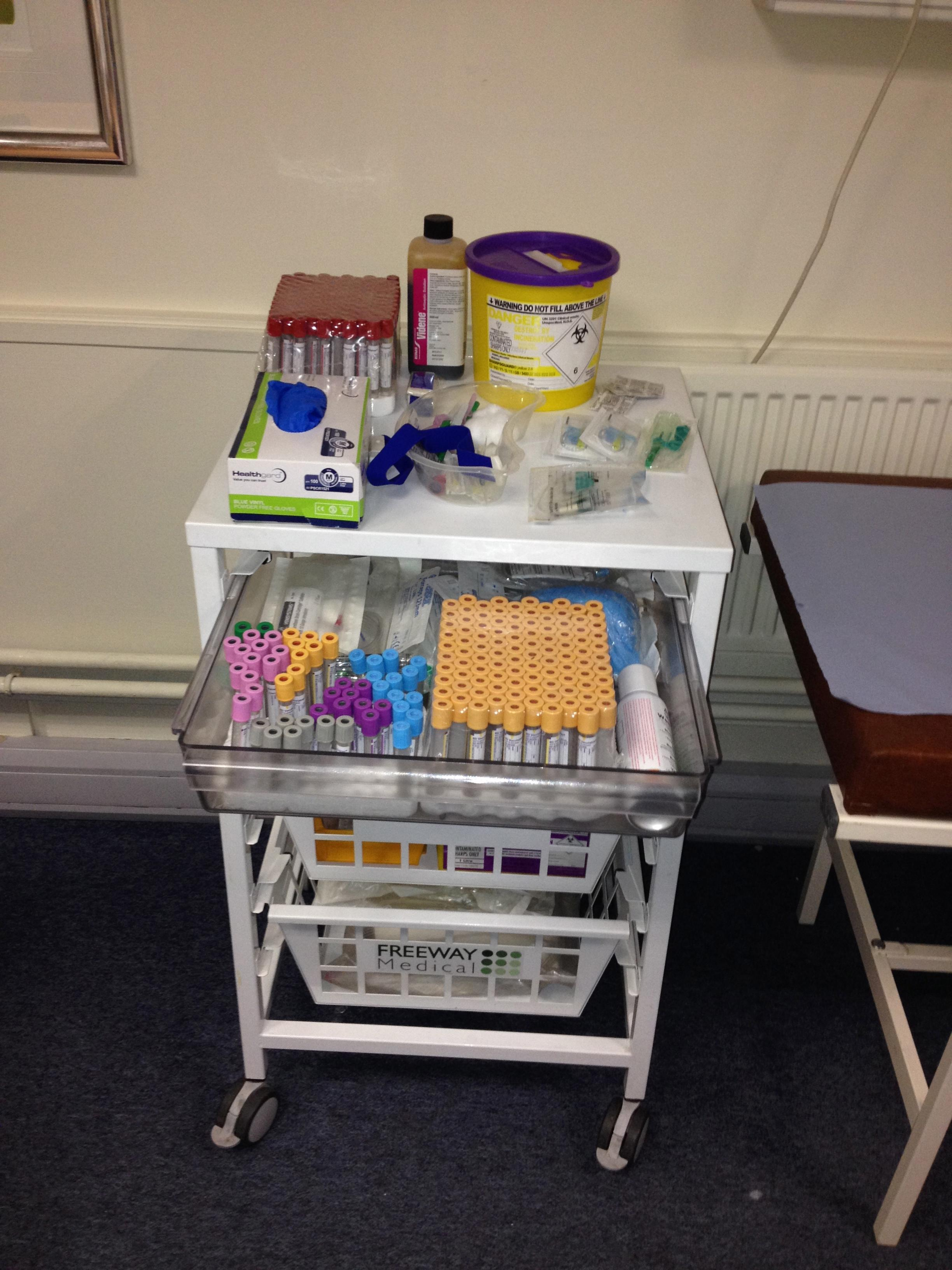 Blood Taking (Phlebotomy) Trolley.jpg