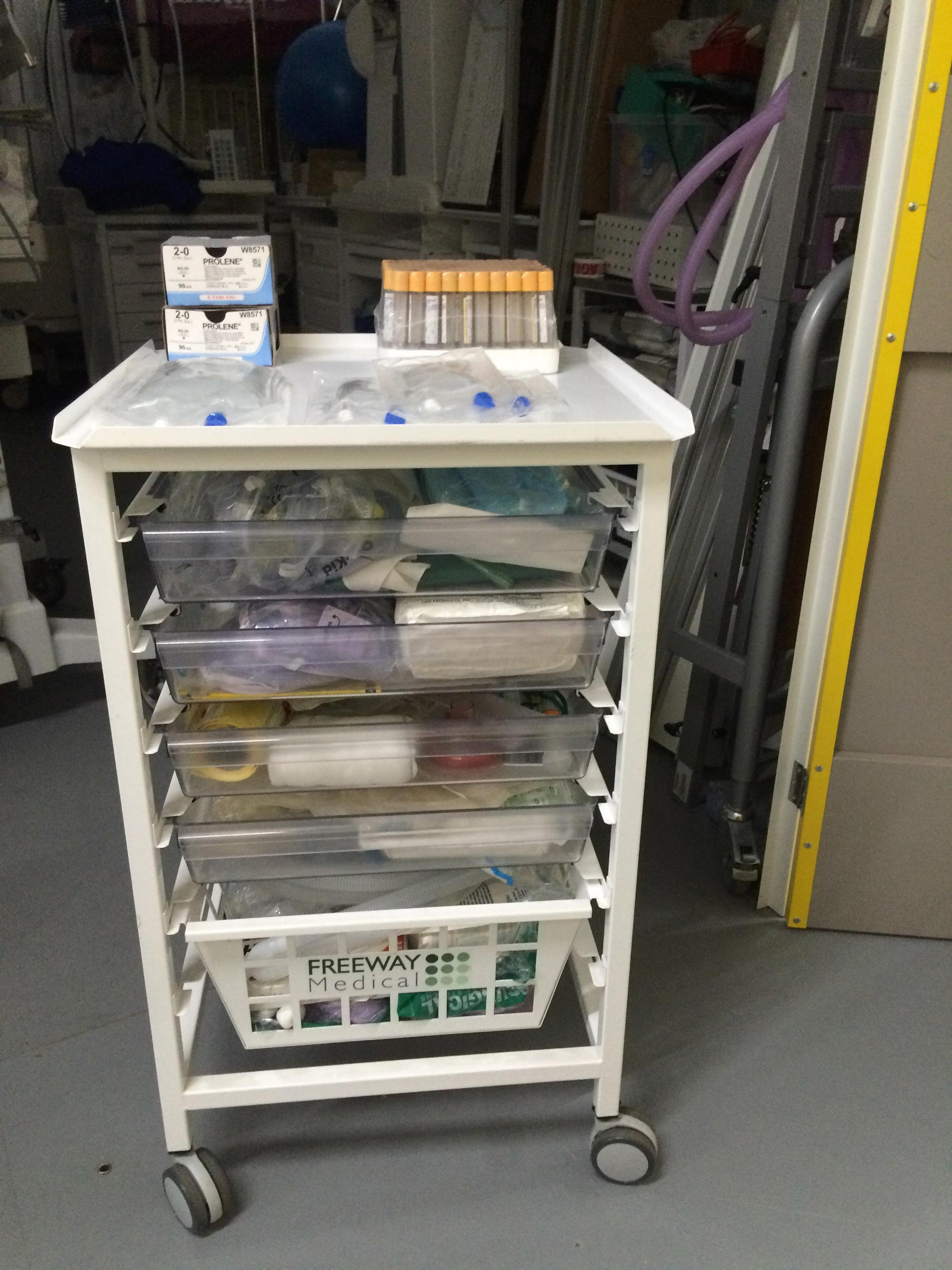 Medical Trolley 2