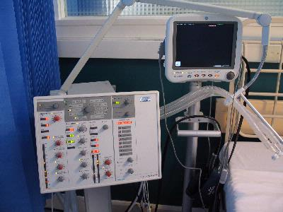 ICU Ventilator & Monitor