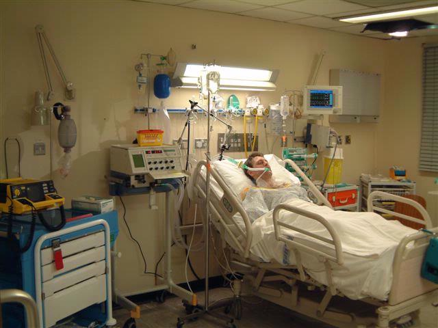 ICU Single Bed Area