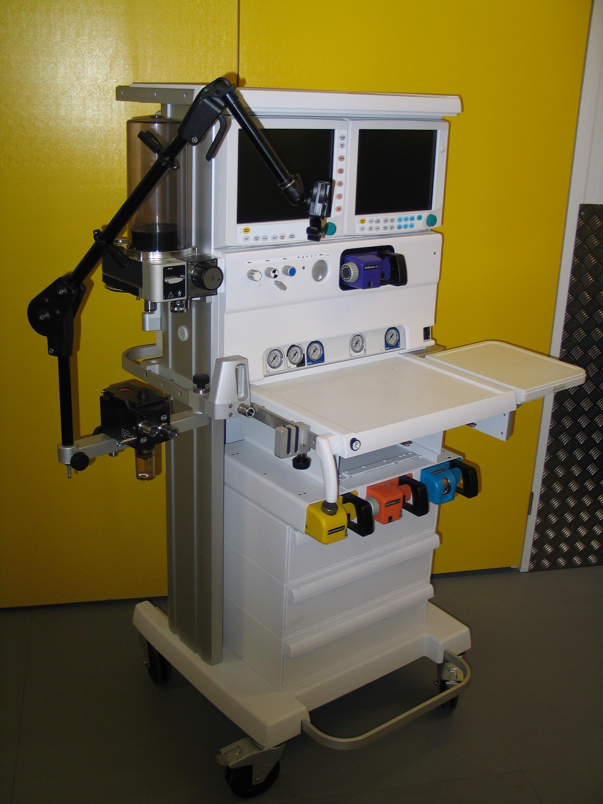 Datex Ohmeda Anaesthetic Machine